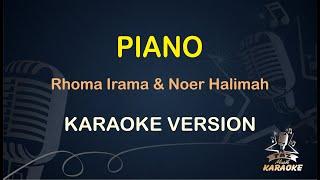 Piano Karaoke Rhoma Irama Karaoke Dangdut Koplo Duet