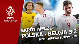 U-21: Bramki z meczu Polska - Belgia