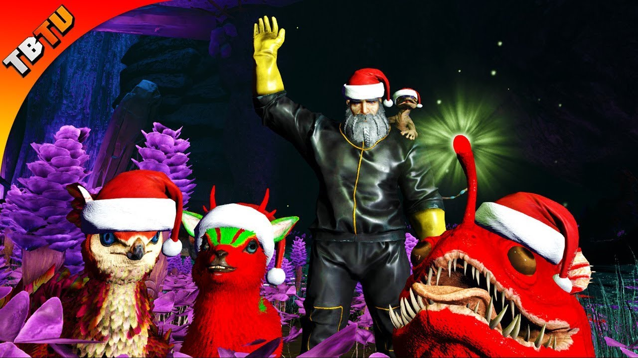 Ark Christmas Event 2020 TAMING ALL THE CHRISTMAS CHARGE CRITTERS! ABERRATION CHRISTMAS