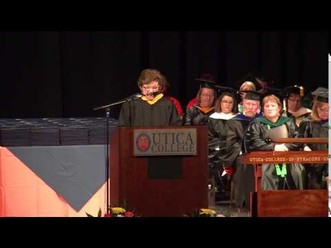 Utica College Graduate Commencement 2014: Address