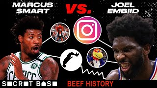Joel Embiid has beefed with Marcus Smart in college, in the NBA, and all across social media