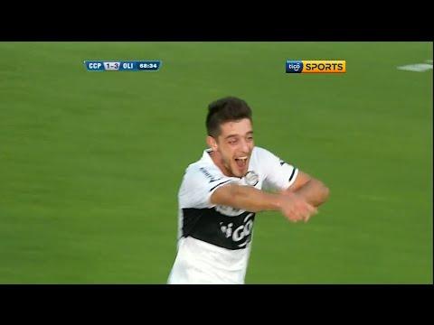 Gol Alejandro Silva. Cerro Porteño 1-3 Olimpia. Clausura 2015