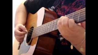 here without you acoustic cover 3 doors down with tab in description