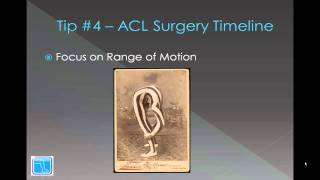 acl surgery recovery timeline 7 essential tips