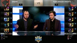 NME vs TDK Highlights Game 1 - Enemy vs Team Dragon Knights - 2016 NA Challenger Spring