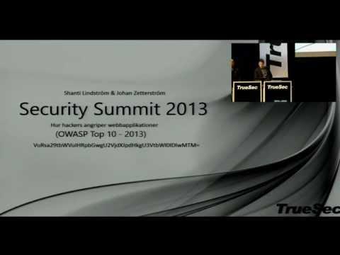 Security Summit 2013 | Web application & Cloud vulnerabilities (OWASP TOP10)