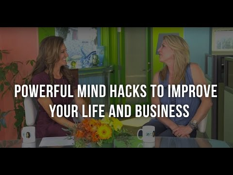 JJ Virgin On Powerful Mind Hacks To Improve Your Life And Business On A Daily Basis.