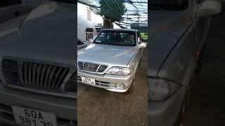 ô tô 7 chỗ máy dầu tupor musso ssangyong #Short
