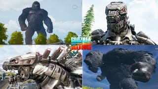 PUBG MOBILE X GODZILLA VS KONG GAMEPLAY|PUBG MOBILE KONG|PUBG MOBILE MECHA GODZILLA FOUND IN LIVIK