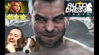 Bulldog Rage Quit in Auto Chess