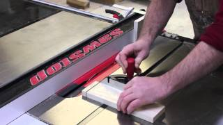 Cutting Tenons On Your Sawstop Table Saw
