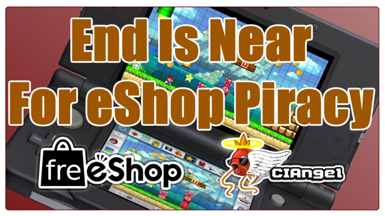 11 8 Update Shows Nintendo Isn't Kidding About Piracy // freeShop is Dead?