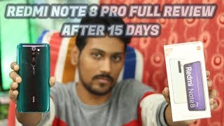 REDMI NOTE 8 PRO FULL REVIEW AFTER 15 DAYS