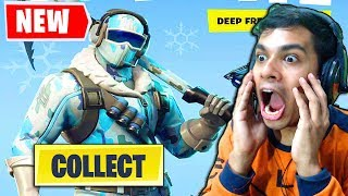 Comment obtenir le BUNDLE DEEP FREEZE pour Fortnite sur PC, PS4, Xbox, Switch, Android, iOS Saison 6