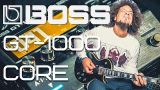 Boss GT-1000 CORE | First Look & Presets