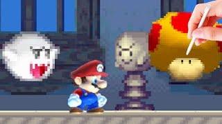 New Super Mario Bros Ds style in Mario Maker