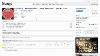 How to create a sales listing on Discogs