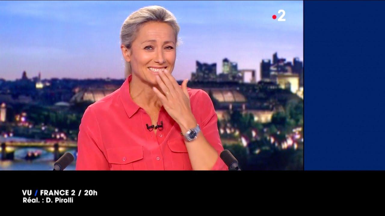 VU du 11/05/21 : Fou rire d'Anne-Sophie Lapix