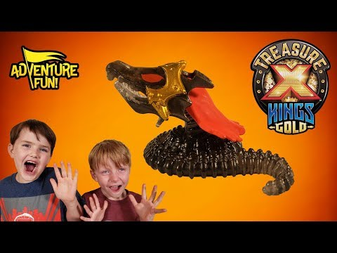 "Treasure X Kings Gold ""Mini Beasts"" Season 3 Adventure Fun Toy Review!"