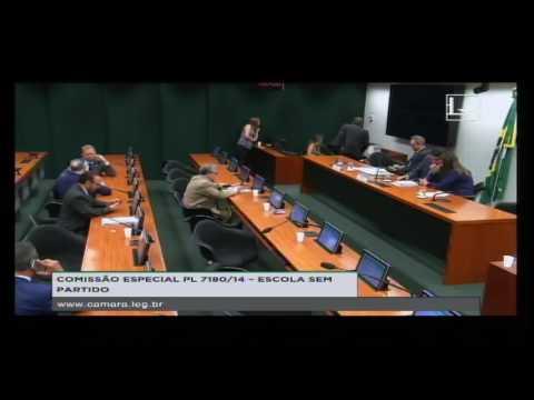 PL 7180/14 - ESCOLA SEM PARTIDO - Reunião Deliberativa - 19/10/2016 - 16:18