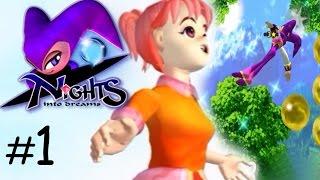 Nights: Nights Into Dreams HD | Spring Valley | Walkthrough Part 1 No Commentary
