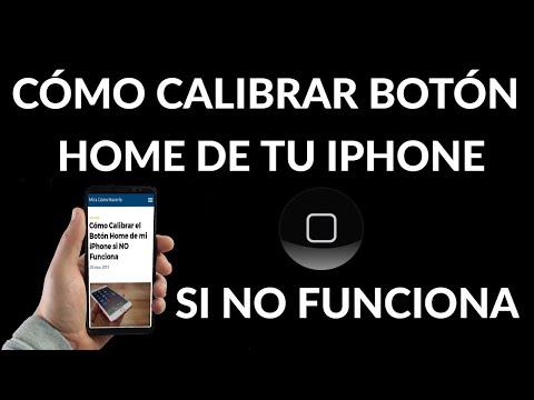 Cómo Calibrar el Botón Home de iPhone si NO Funciona