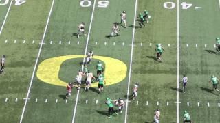 Oregon Ducks spring game highlights