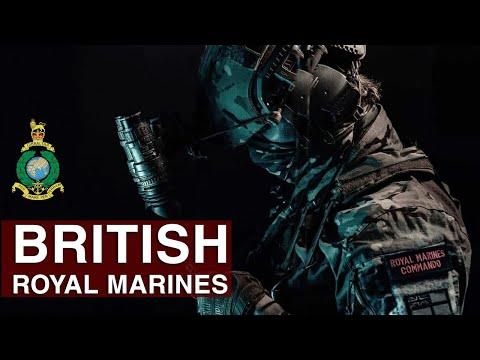 "British Royal Marines   ""By Sea, By Land"""