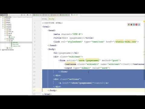 Web-Technologien, HTML Und CSS #23: Wiki - HTML Und CSS