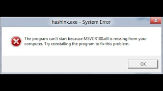 fix error Missing MSVCP140.dll and VCRUNTIME140.dll. Solved (WAMP)
