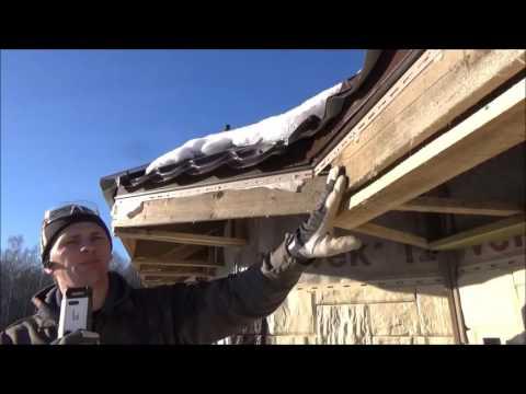 видео: Монтаж Софитов 5(Ошибки монтажа стропил и гидроизоляции)