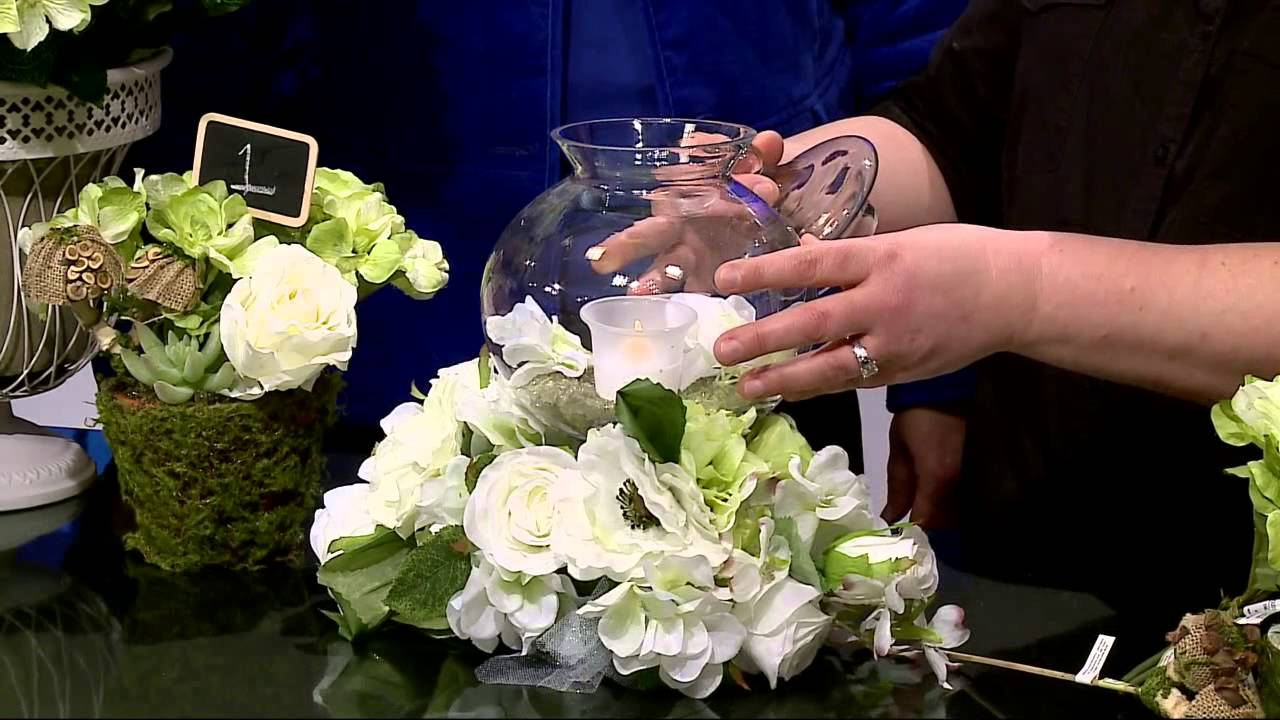 Michael 39 s craft store silk wedding flowers am interview 1 for Craft stores in canada