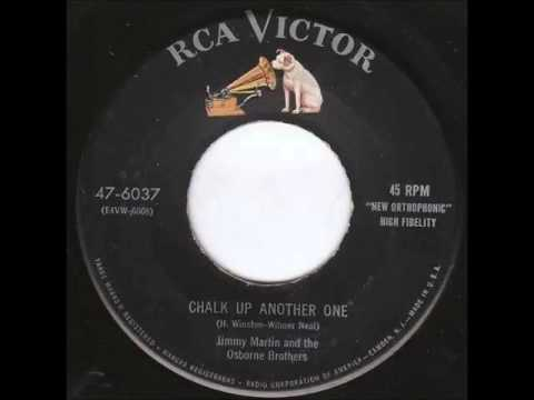 Jimmy Martin & The Osborne Brothers - Chalk Up Another One