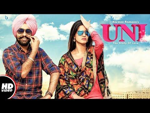 Harman Ramana : UNI (The Study Of Love)    Official Video    New Punjabi Songs 2017
