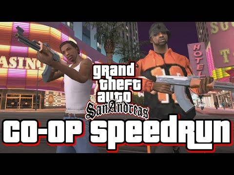 GTA San Andreas Co-Op/Two Player Speedrun!