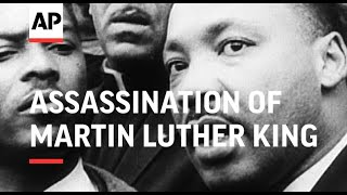 Assassination of Martin Luther King - Movietone