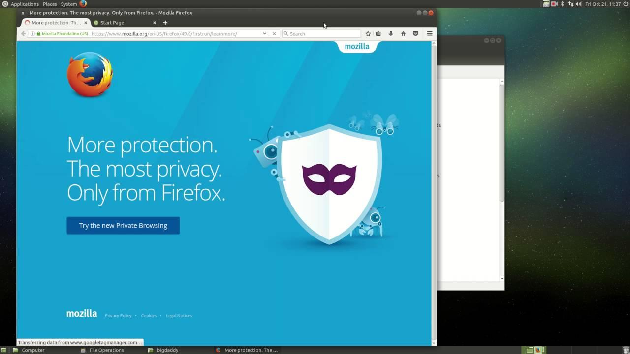 How I Backup and Restore Linux Programs - Firefox, Thunderbird