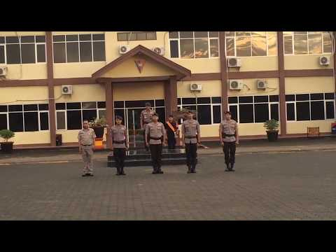Apel Kesatuan Bersenjata Personel Sat Brimob Polda Jambi