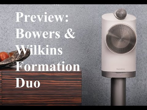 Preview: Bowers & Wilkins Formation Duo speakers