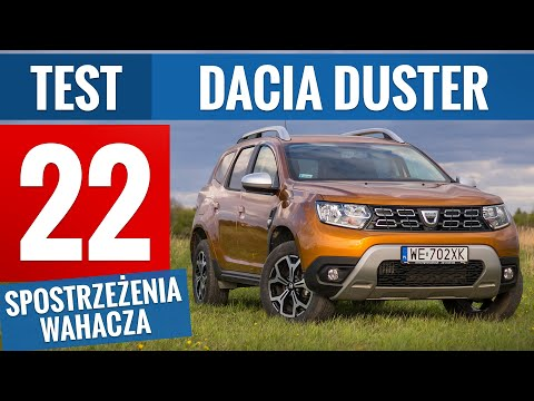 Dacia Duster 2020 - TEST PL (1.0 TCe 100 KM Prestige)