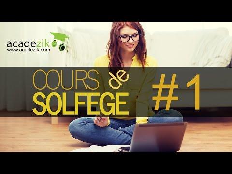 Cours de solfège débutant (guitare, piano) -  La portée, les clés, les notes (vidéo)
