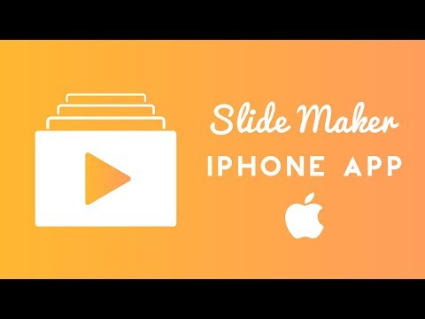 Slide Maker (iPhone App) | Video Editor | Two in One  |  Best for iPhone X