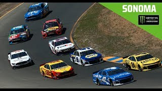 Full NASCAR Cup Series race from Sonoma Raceway