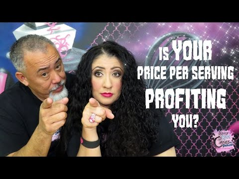 Is YOUR Price Per Serving PROFITING You? - Cake Biz Video Series