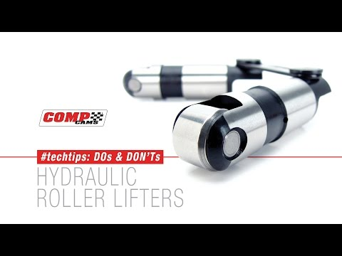 COMP Cams #Techtips: Hydraulic Roller Lifters - YouTube