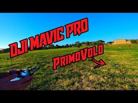 DJI MAVIC PRO | Il mio primo volo con il drone! 😍