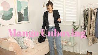 MANGO UNBOXING HAUL & TRY ON!!!