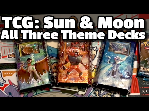 Pokémon TCG: Sun & Moon Theme Decks (ft. Decidueye, Incineroar & Primarina!)