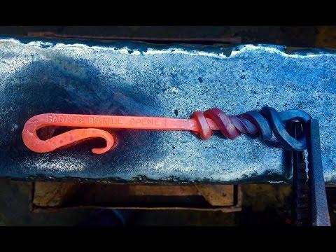 Bottle Opener - Blacksmithing by Lance Thomas