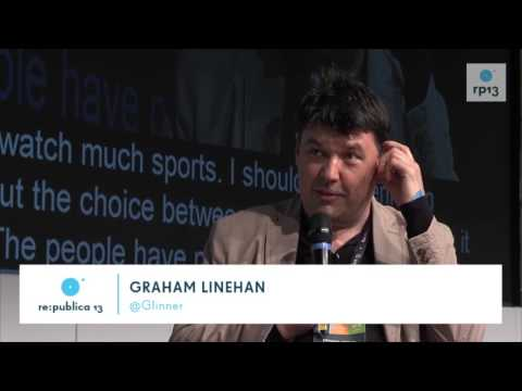 re:publica 2013 - Graham Linehan, Johnny Haeusler - Comic Misunderstanding on YouTube